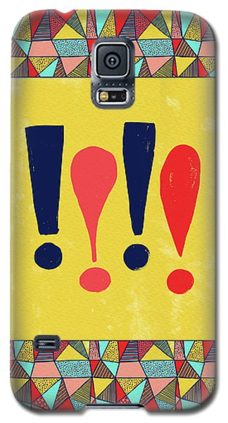 Exclamations Pop Art Galaxy S5 Case