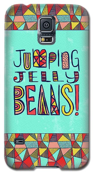 Jumping Jelly Beans Galaxy S5 Case