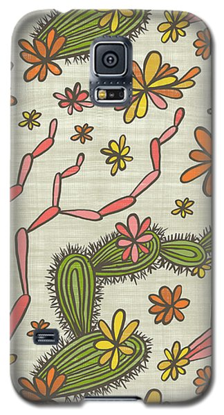 Flowering Cacti Elements Galaxy S5 Case