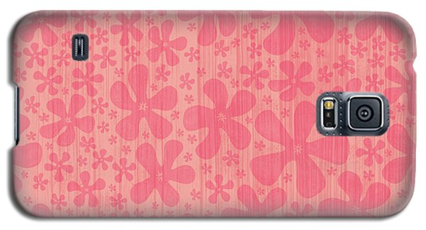 Tropical Floral Pattern Galaxy S5 Case