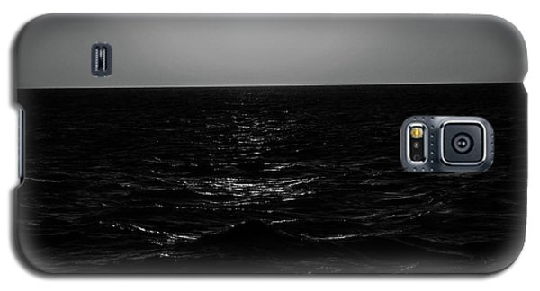 Aruba Sunset In Black And White Galaxy S5 Case