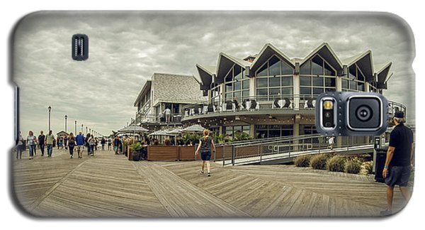Asbury Park Boardwalk Looking South Galaxy S5 Case
