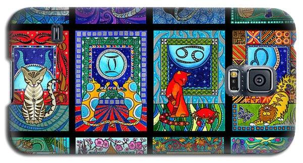 Astrology Cat Zodiacs Galaxy S5 Case