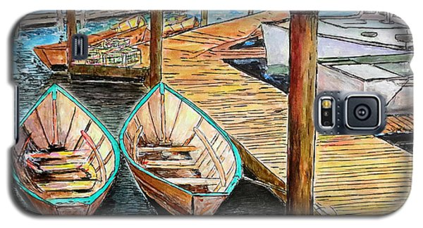 At The Dock In Gloucester Massachusetts Galaxy S5 Case