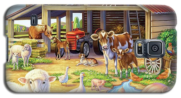 At The Farm Galaxy S5 Case