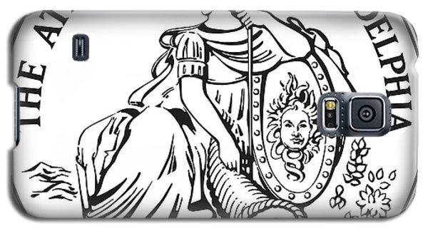 Athenaeum Of Philadelphia Logo Galaxy S5 Case