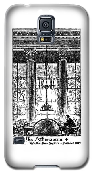 Athenaeum Reading Room Galaxy S5 Case