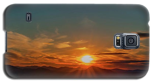 Attean Pond Sunset Galaxy S5 Case