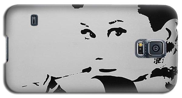 Audrey B W Galaxy S5 Case