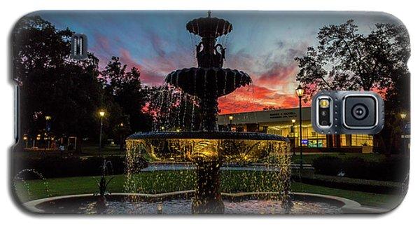 Augusta University Fountain Sunset Ga Galaxy S5 Case