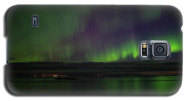 Aurora Borealis Reflecting At The Sea Surface Galaxy S5 Case