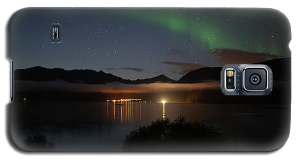 Aurora Northern Polar Light In Night Sky Over Northern Norway Galaxy S5 Case