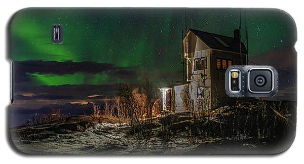 Aurora Over The Radio Station Galaxy S5 Case
