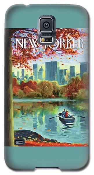 Autumn Central Park Galaxy S5 Case