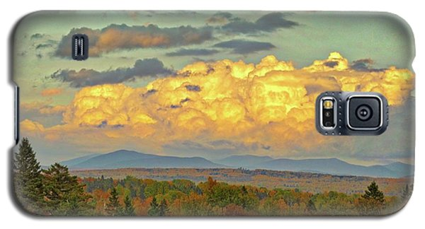 Autumn Clouds Over Maine Galaxy S5 Case
