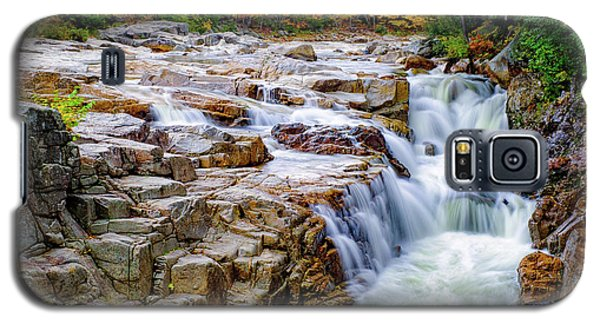 Autumn Color At Rocky Gorge Galaxy S5 Case