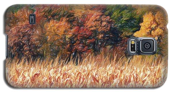 Autumn Cornfield Galaxy S5 Case