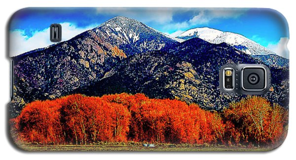Autumn In Taos New Mexico Galaxy S5 Case