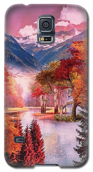 Autumn Landscape 1 Galaxy S5 Case