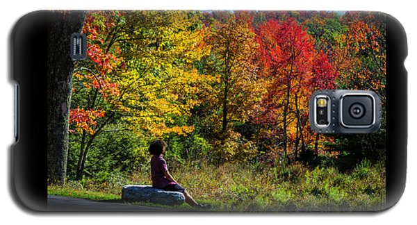 Autumn Leaves In The Catskill Mountains Galaxy S5 Case