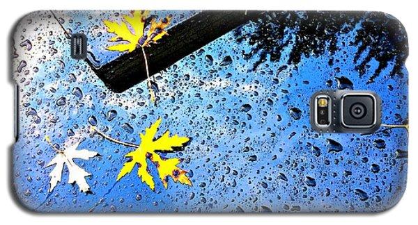Autumn Raindrops Car Reflections Galaxy S5 Case