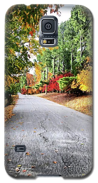 Autumn Road  Galaxy S5 Case