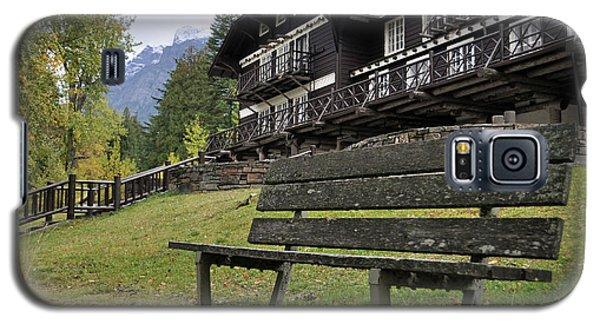 Autumn Silence At Lake Mcdonald Lodge In Glacier National Park Galaxy S5 Case