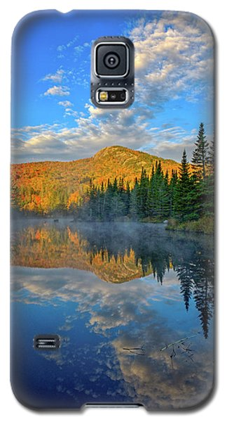 Autumn Sky, Mountain Pond Galaxy S5 Case