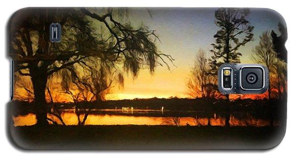 Autumn Sunset Galaxy S5 Case