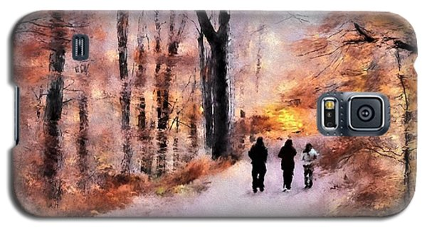 Autumn Walkers Galaxy S5 Case