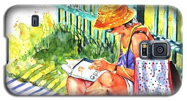 Avid Reader #2 Galaxy S5 Case