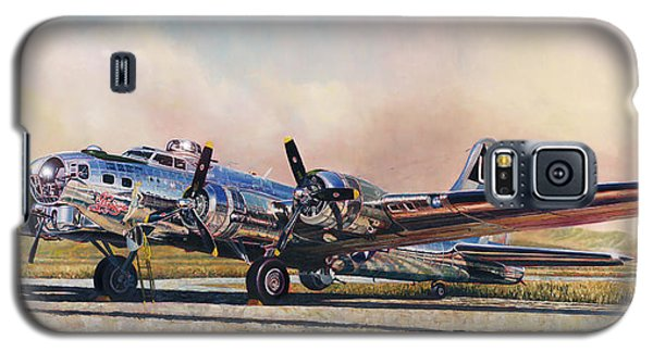 B-17g Sentimental Journey Galaxy S5 Case