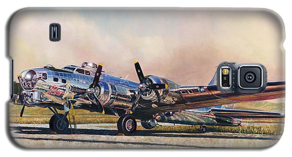 B-17g Sentimental Journey Galaxy S5 Case
