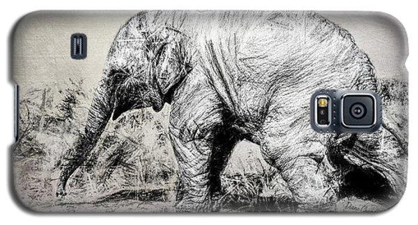 Baby Elephant Walk Galaxy S5 Case