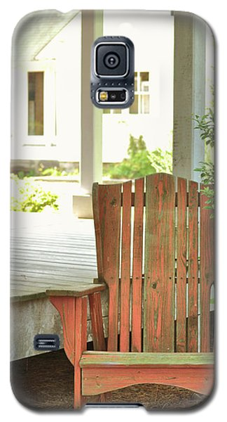 Back In  Porch Time Galaxy S5 Case