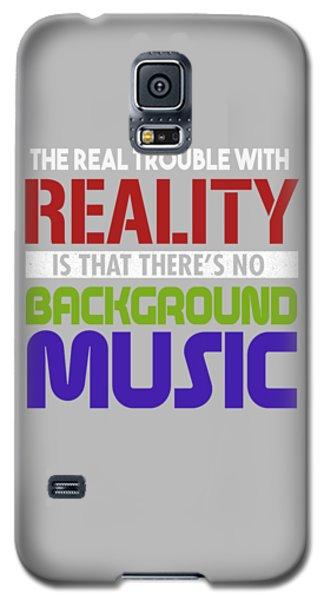 Background Music Galaxy S5 Case