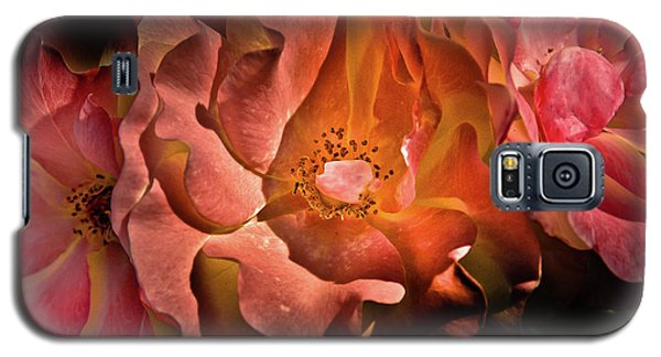 Backyard Flowers 40 Color Version Galaxy S5 Case