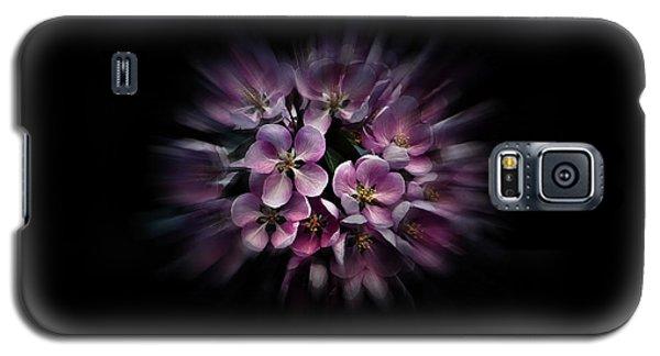 Backyard Flowers 47 Color Flow Version Galaxy S5 Case