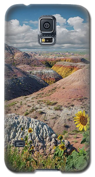 Badlands Sunflower - Vertical Galaxy S5 Case