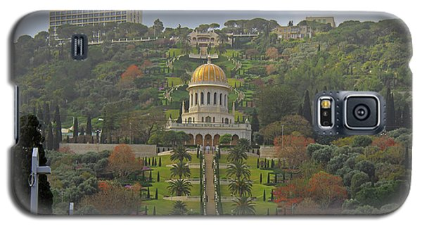 Bahai Gardens And Temple - Haifa, Israel Galaxy S5 Case