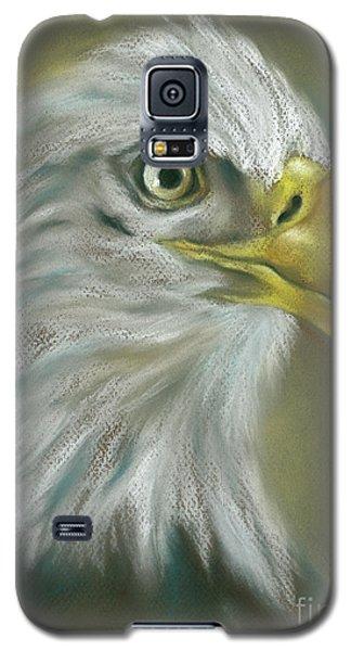 Bald Eagle With A Keen Eye Galaxy S5 Case