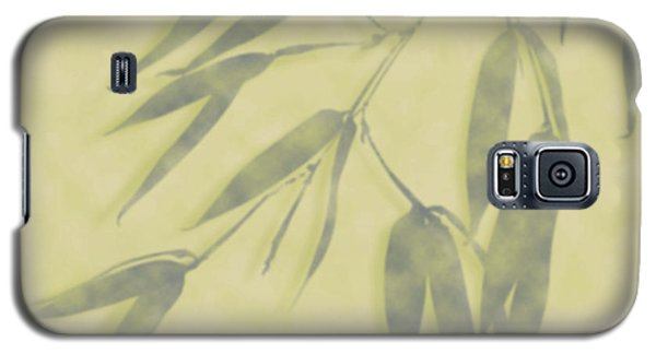 Bamboo Leaves 0580b Galaxy S5 Case
