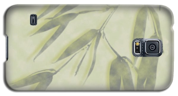 Bamboo Leaves 0580c Galaxy S5 Case