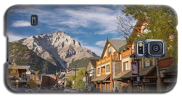 Banff And Cascade Mountai Galaxy S5 Case