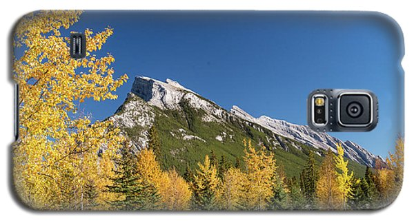 Banff And Mount Rundle Galaxy S5 Case
