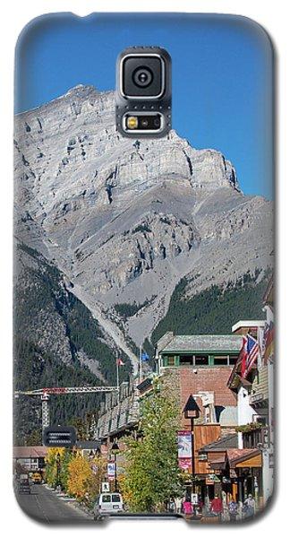 Banff Town Center And Cascade Mountain  Galaxy S5 Case