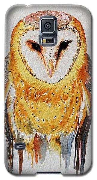 Barn Owl Drip Galaxy S5 Case