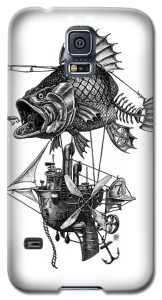 Bass Airship Galaxy S5 Case
