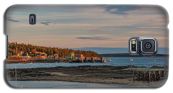 Bass Harbor Sunset Galaxy S5 Case