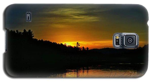 Bass Lake Sunrise Duck Galaxy S5 Case